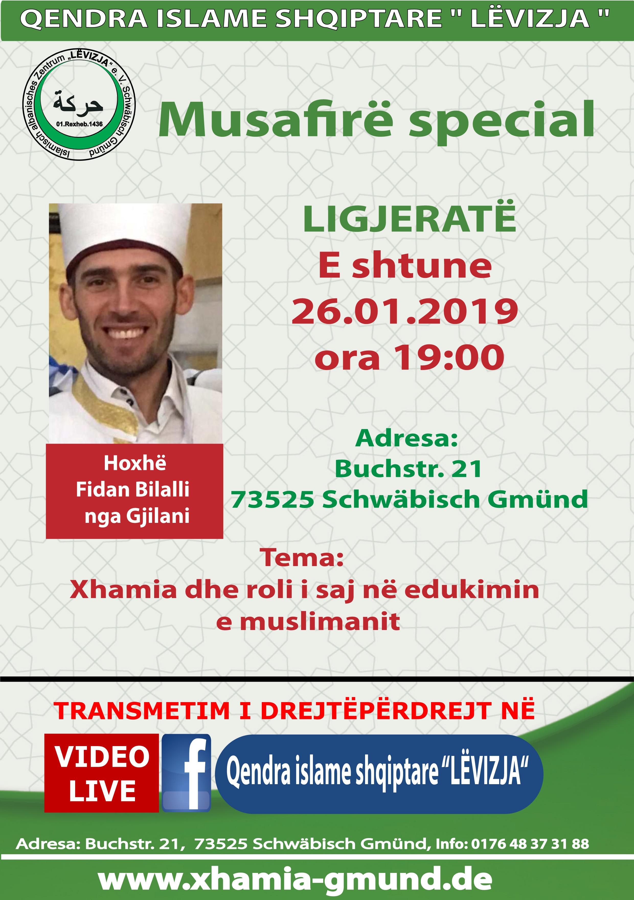 Fletushka - Tribun me Hoxhe Fidan Bilali  26.01.2019