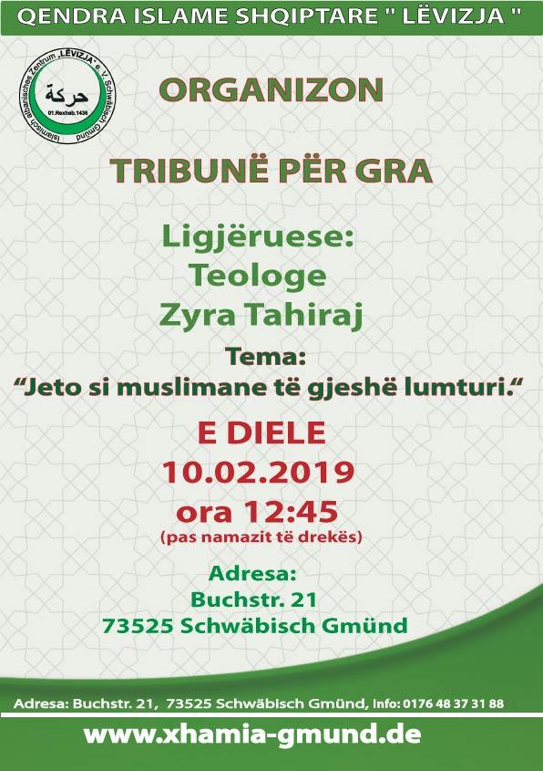 Fletushka - Tribun per Gra me Zyra Tahiraj 10.02.2019