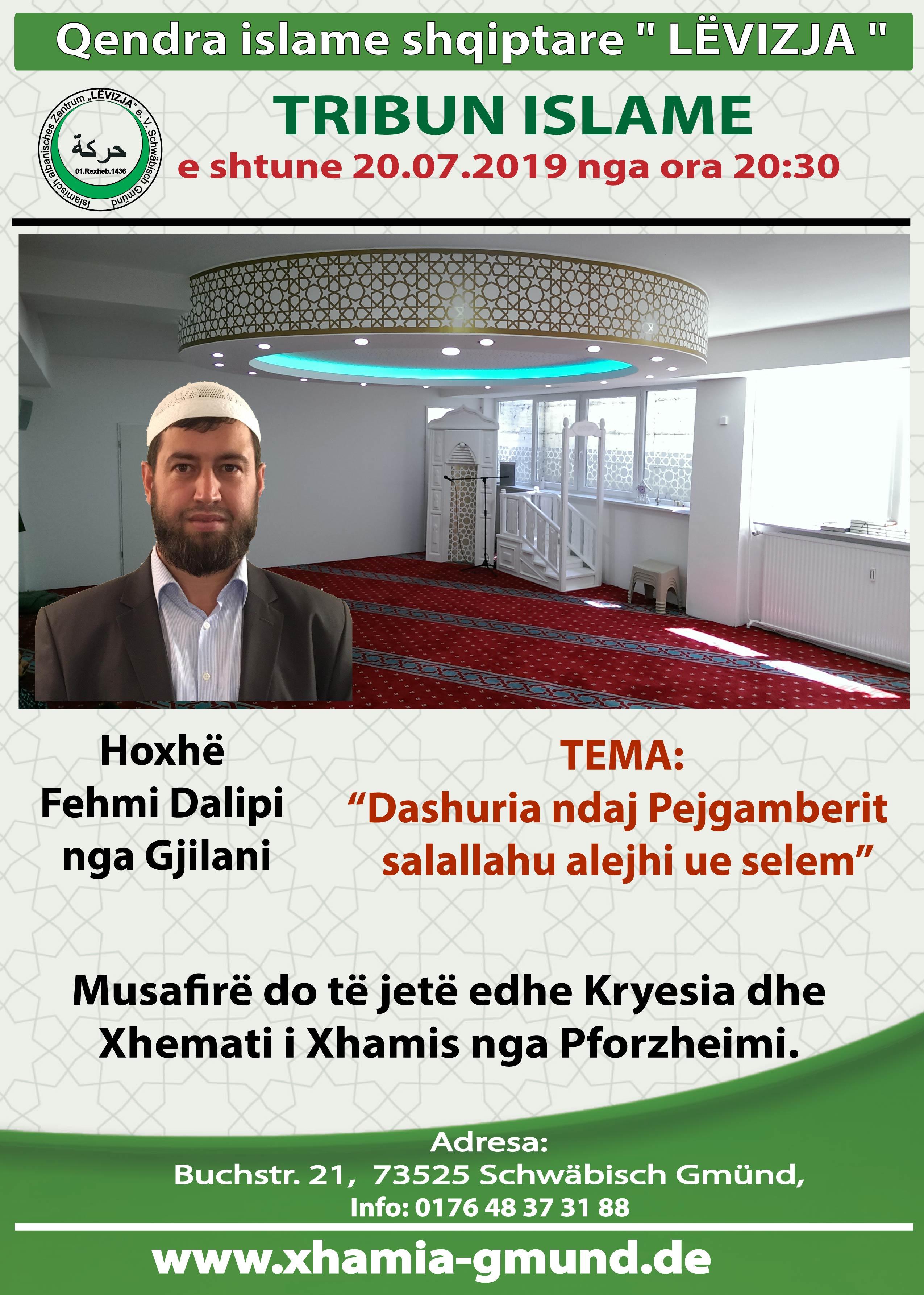 Tribun meFehmi Dalipi 20.07.2019.